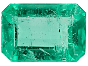 0.68ct Colombian Emerald 6.9x4.8mm Rect Oct Mined: Colombia/Cut: Colombia