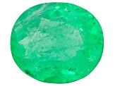 1.27ct Colombian Emerald 8x7.2mm Oval Mined: Colombia/Cut: Colombia