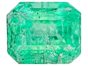Emerald 6x5mm Emerald Cut 0.90ct