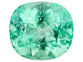 Emerald 10.6x9.8mm Rectangular Cushion 4.39ct