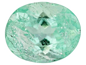Emerald 10.9x8.7mm Oval 3.38ct