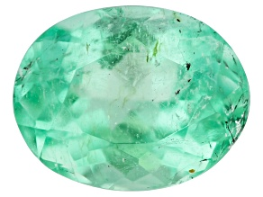 Emerald 7.1x5.5mm Oval 0.95ct