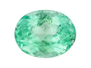 Emerald 7.1x5.5mm Oval 0.95ct