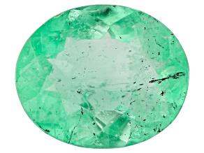 Emerald 7.8x6.5mm Oval 0.97ct