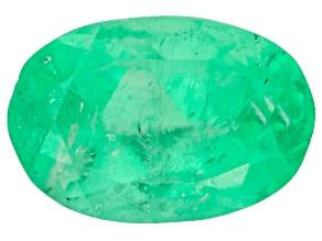 Emerald 7x5mm Oval 0.89ct