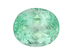 Emerald 7.4x6.2mm Oval 1.33ct