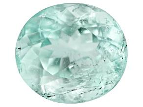 Emerald 7.5x6.8mm Oval 1.31ct