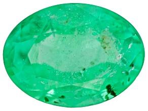Emerald 7.8x5.8mm Oval 1.05ct