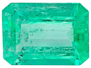 Columbian Emerald 10.1x7.33mm Emerald Cut 2.28ct