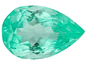 Columbian Emerald 10.3x6.7mm Pear Shape 1.76ct