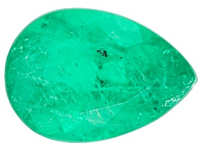 Columbian Emerald 6.6x4.7mm Pear Shape 0.53ct