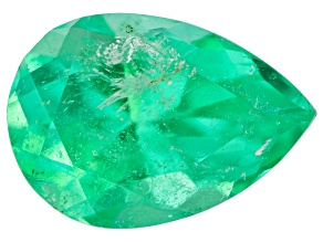 Emerald 9.8x6.2mm Pear Shape 1.24ct