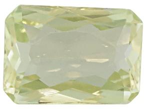 Triphane Yellow Spodumene Rectangular Octagonal Radiant Cut 7.00ct