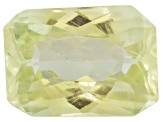 Triphane Yellow Spodumene Rectangular Octagonal Radiant Cut 8.00ct