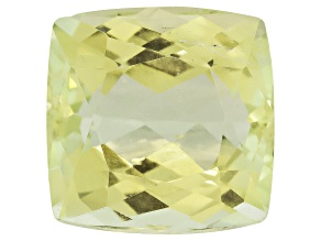 Triphane Yellow Spodumene Rectangular Cushion 15.00ct