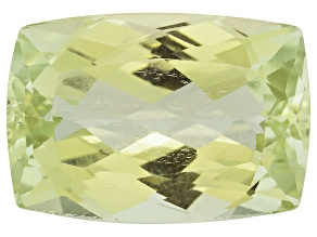 Triphane Yellow Spodumene Rectangular Cushion 18.00ct
