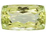 Triphane Yellow Spodumene Rectangular Cushion 25.00ct