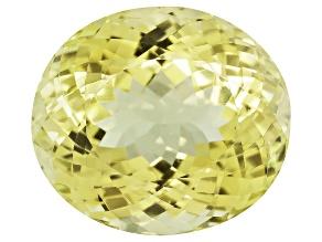Triphane Yellow Spodumene 24.19x21.19mm Oval 5.86ct
