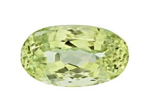 Afghan Yellow-Green Spodumene 53.20ct 27.82x16.12mm Oval