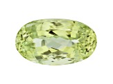 Afghan Yellow-Green Spodumene 53.20ct 27.82x16.12mm Oval