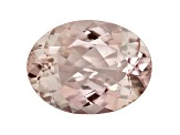 Morganite 16x12mm Oval 8.31ct