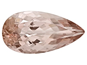 Morganite 24.55x2.65mm Pear Shape 15.11ct