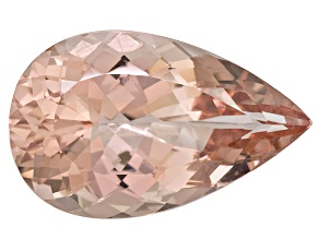 Morganite 26x16mm Pear Shape 20.64ct