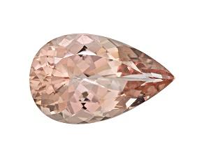 Morganite 26x16mm Pear Shape 20.64ct