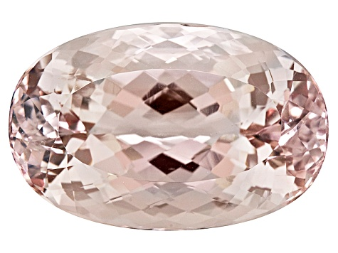 Morganite 28.1x18.1mm Oval 46.44ct