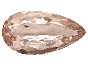 Morganite 20x10.5mm Pear Shape 8.29ct
