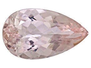 Morganite 17.5x10.5mm Pear Shape 6.85ct