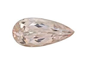 Morganite 21x10mm Pear Shape 8.38ct