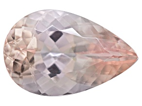Morganite 19x12.3mm Pear Shape 9.92ct