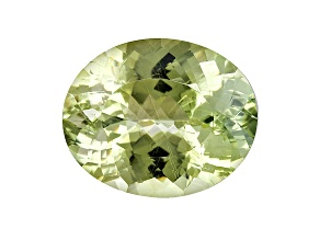 Euclase 24.21x19.75x12.45mm Oval 36.15ct