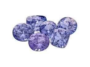 Sapphire Mixed Shape Set 6.10ctw