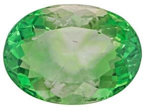 Green Fluorite 18.62x13.55mm Oval 17.52ct