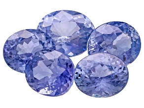 Sapphire 5.86mm To 6.87mm Oval Set 5.52ctw