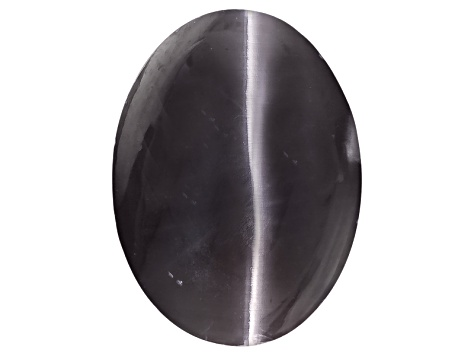 Sillimanite Cats Eye 12.61x9.3mm Oval Cabochon 6.18ct