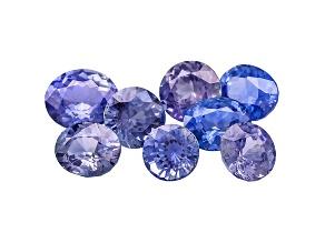 Sapphire Mixed Shape Set 6.43ctw