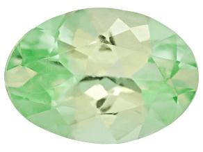 Garnet Mint Tsavorite Fluorescent 7x5mm Oval .70ct