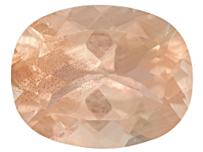 Peach Sunstone Aventurescence 10x8mm Rectangular Cushion 2.50ct
