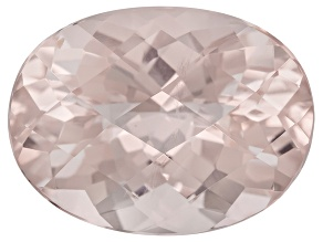 Peach Morganite 6.94ct 14.5x11mm Oval Shape
