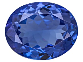 Blue Tanzanite 2.41ct  10x8mm Oval Mixed Cut