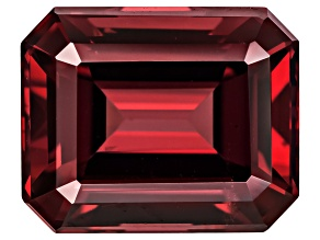 Rhodolite Garnet 10.7x8.7mm Emerald Cut 5.27ct