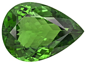 Green Tourmaline 18.97x13.78mm Pear Shape 11.07ct