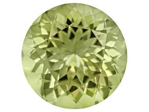 Green Tourmaline 8.13ct Round Brilliant 2.23ct
