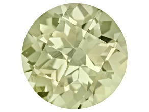Green Tourmaline 10mm Round Checkerboard Cut 3.90ct