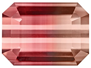 Bi-Color Tourmaline 9.05x6.62mm Emerald Cut 2.69ct