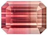 Bi-Color Tourmaline 8.35x6.28mm Emerald Cut 2.14ct