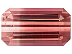 Bi-Color Tourmaline 12.4x6.9mm Emerald Cut 3.77ct